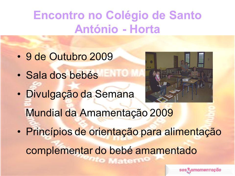 Encontro no Colégio de Santo António - Horta