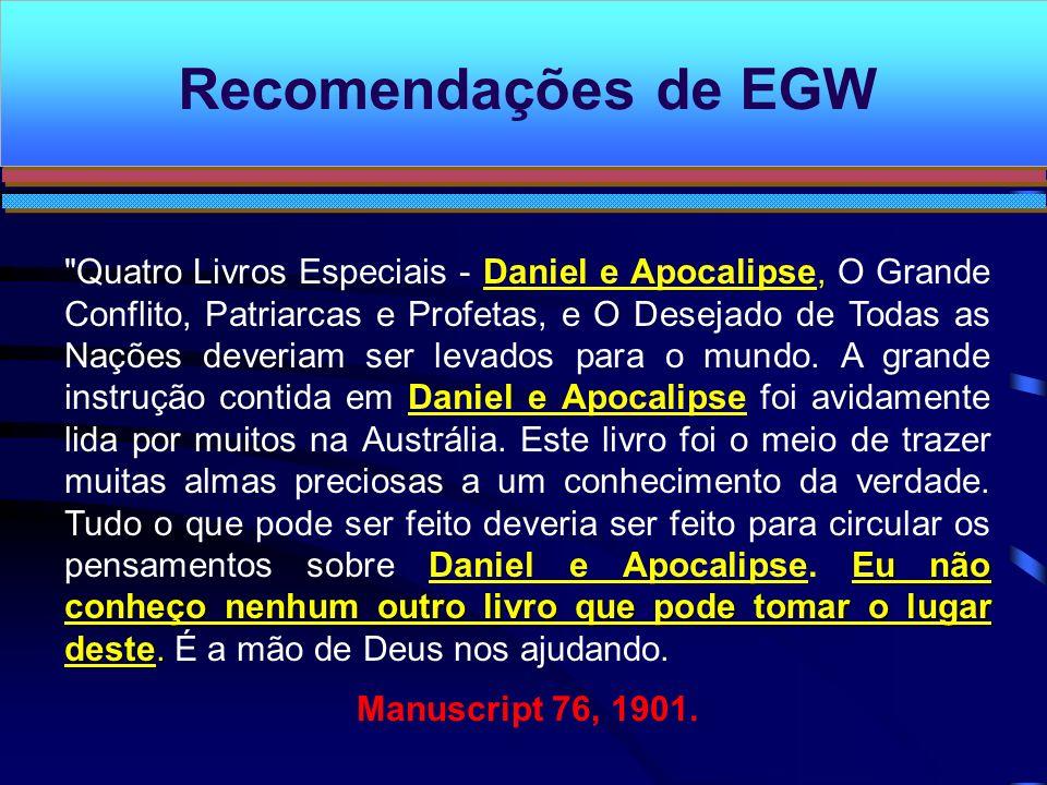 Recomendações de EGW