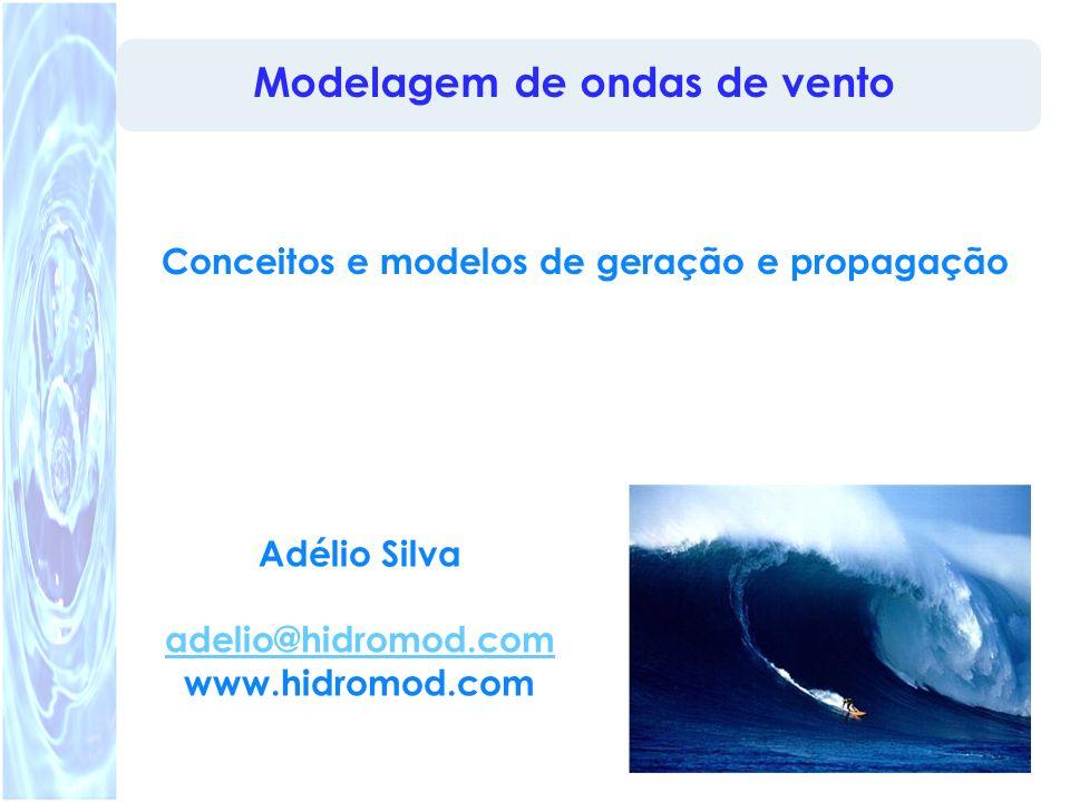 Modelagem de ondas de vento