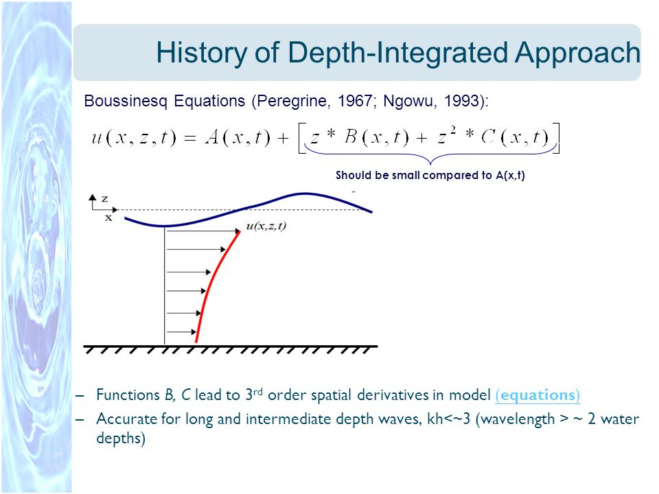 History of Depth-Integrated Approach