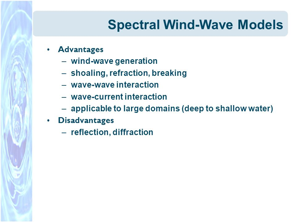 Spectral Wind-Wave Models