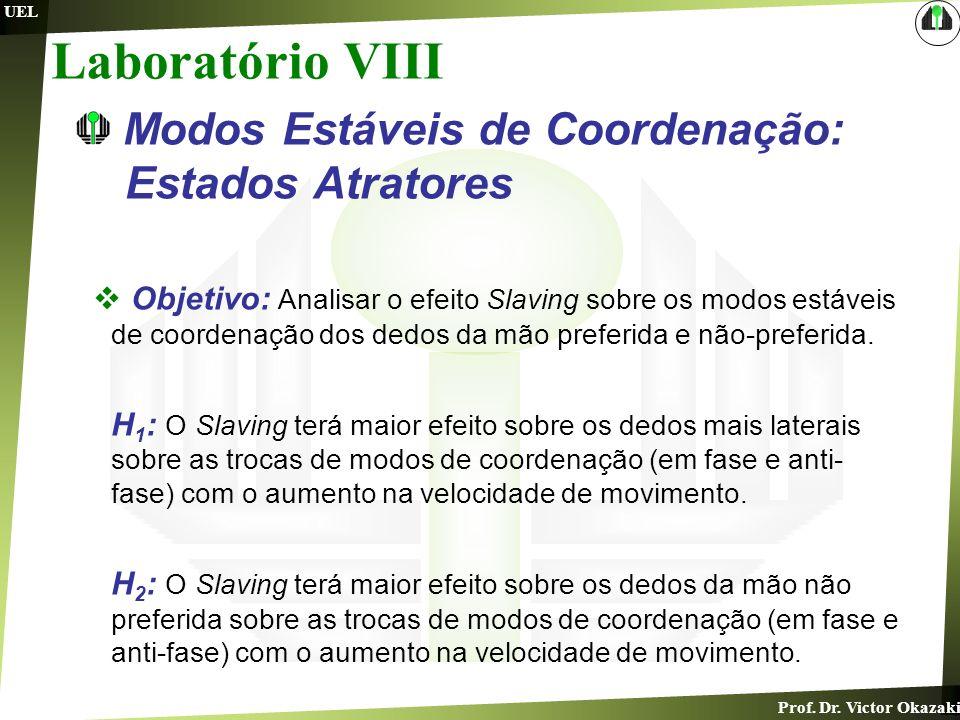 Laboratório VIII Modos Estáveis de Coordenação: Estados Atratores