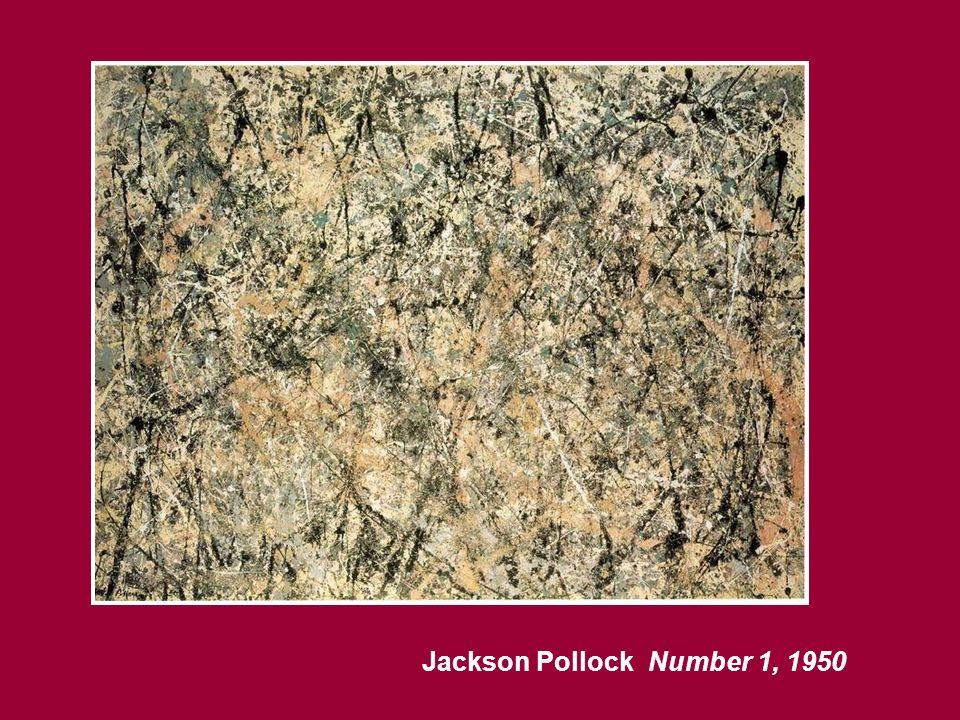 Jackson Pollock Number 1, 1950