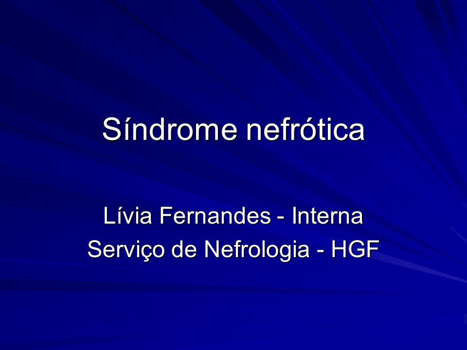 Lívia Fernandes - Interna Serviço de Nefrologia - HGF