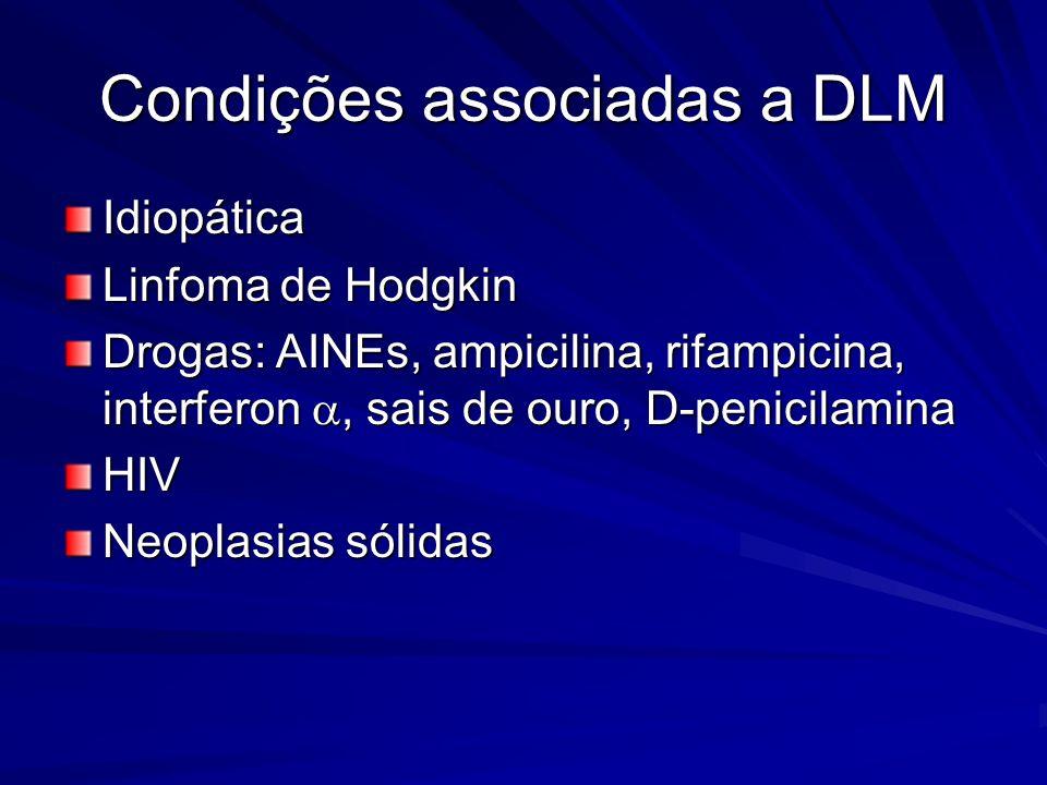 Condições associadas a DLM