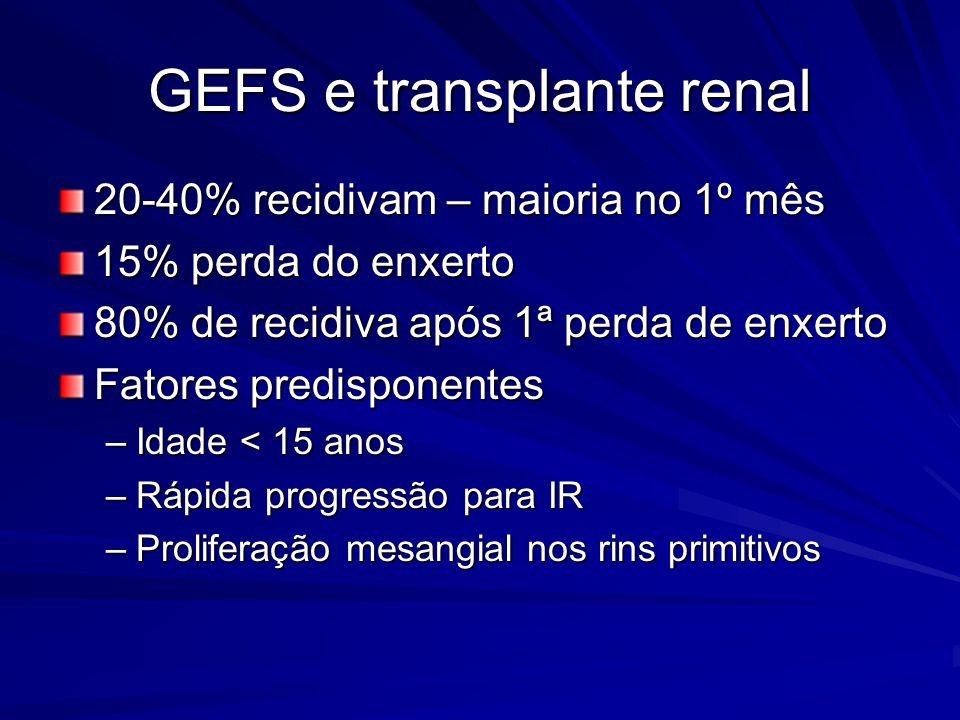 GEFS e transplante renal