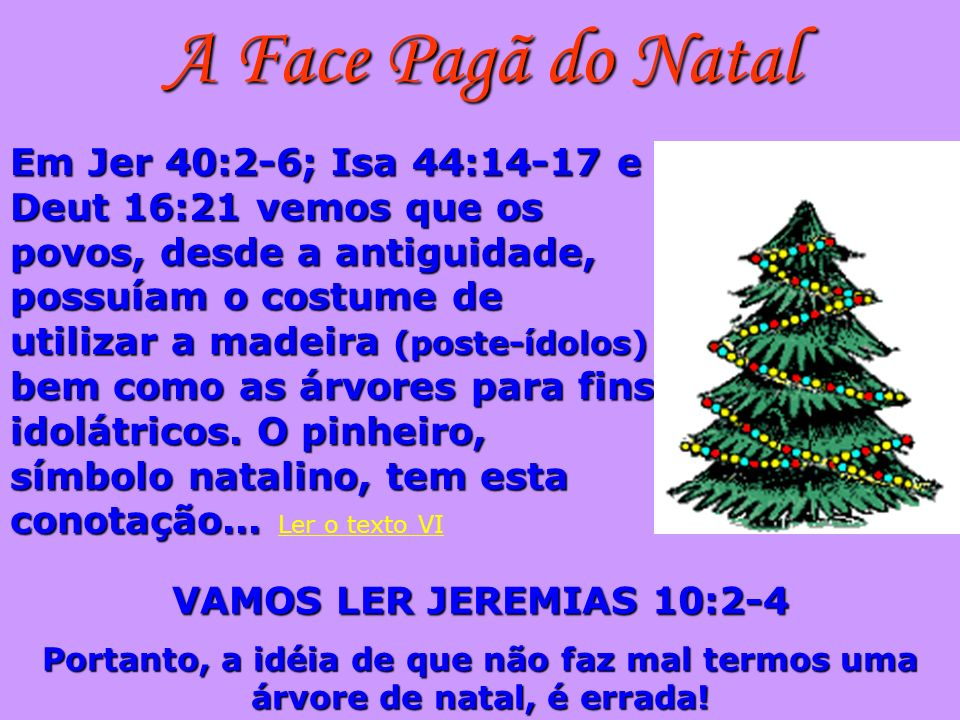 A Face Pagã do Natal