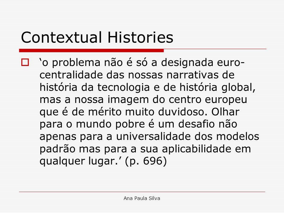 Contextual Histories
