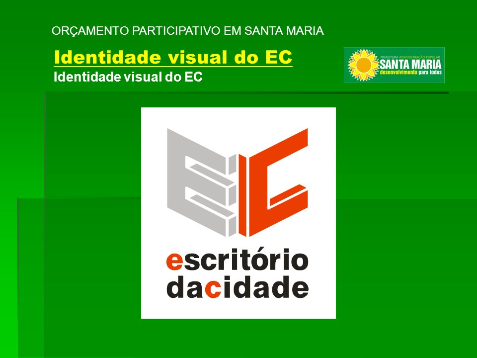 Identidade visual do EC
