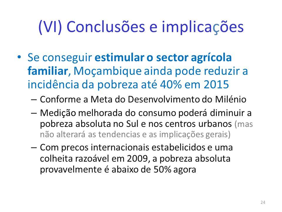 (VI) Conclusões e implicações