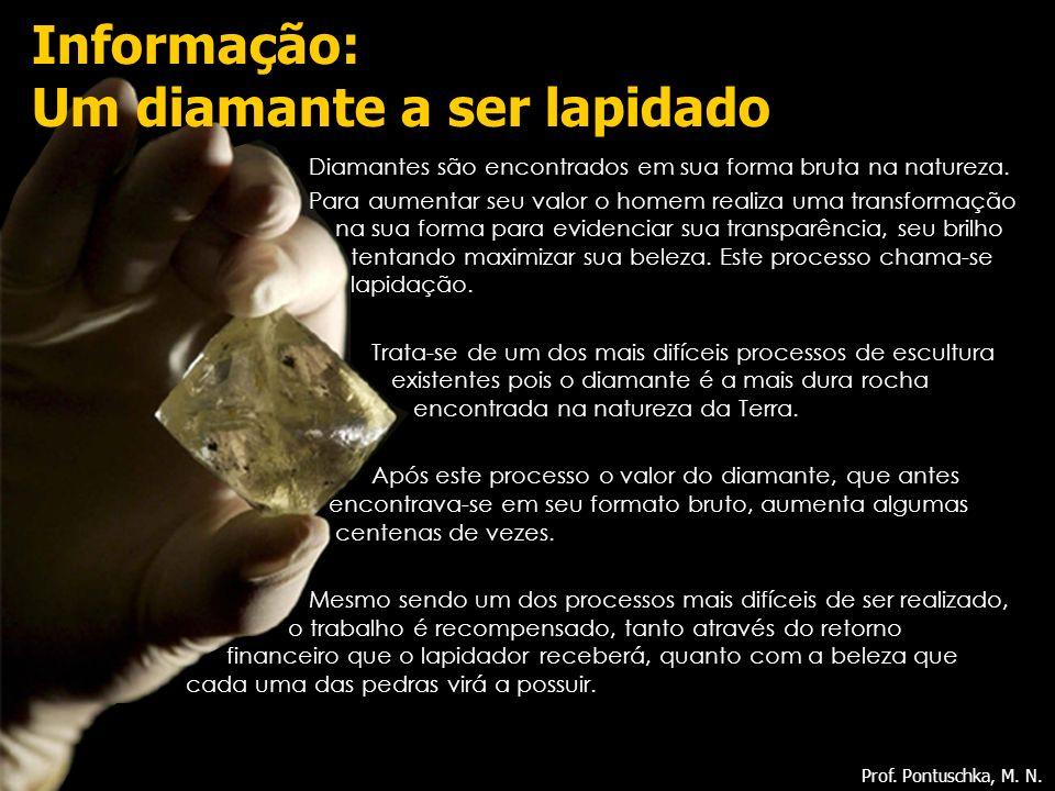 Informação: Um diamante a ser lapidado