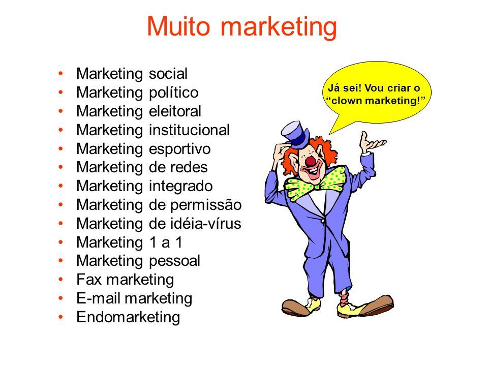 Muito marketing Marketing social Marketing político