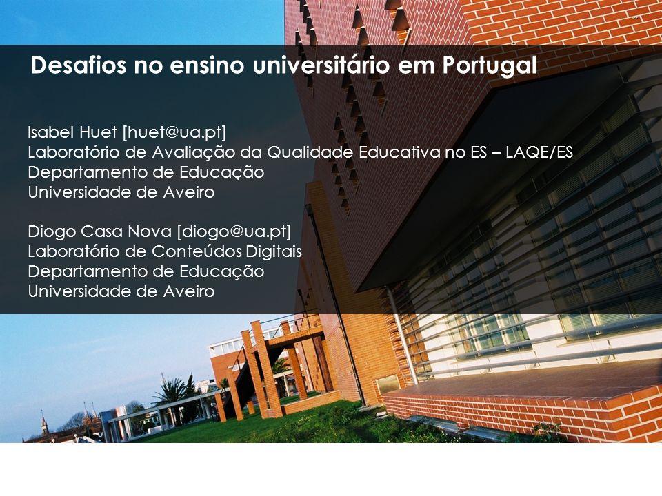 Desafios no ensino universitário em Portugal