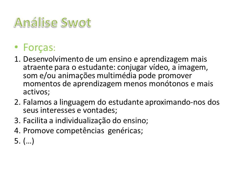 Análise SwotForças:
