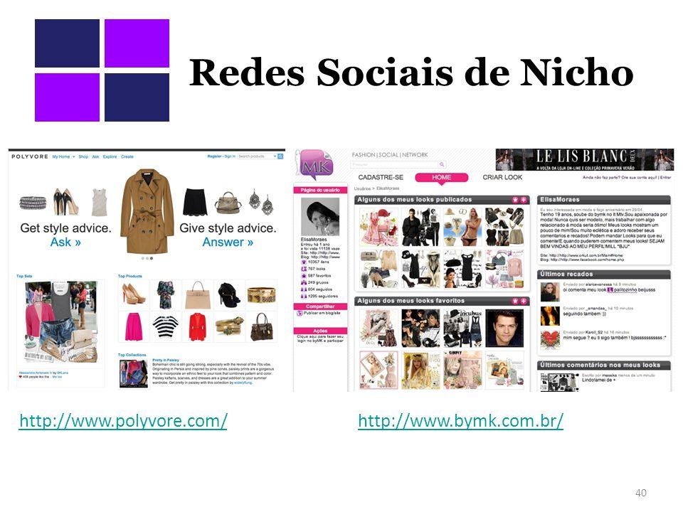 Redes Sociais de Nicho http://www.polyvore.com/