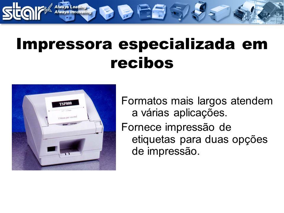 Impressora especializada em recibos
