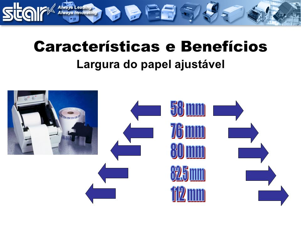 Características e Benefícios