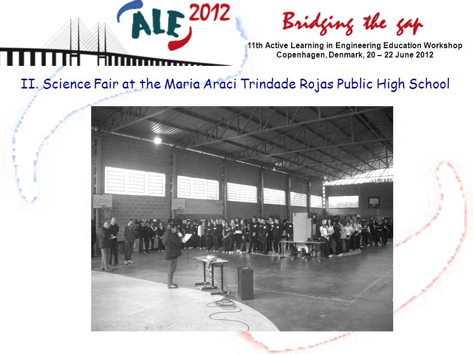 II. Science Fair at the Maria Araci Trindade Rojas Public High School