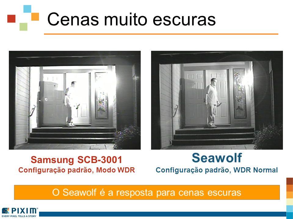 Configuração padrão, WDR Normal Configuração padrão, Modo WDR
