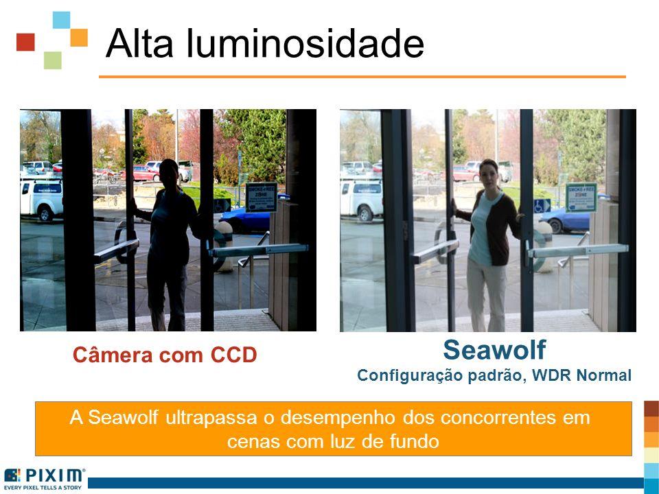 Configuração padrão, WDR Normal