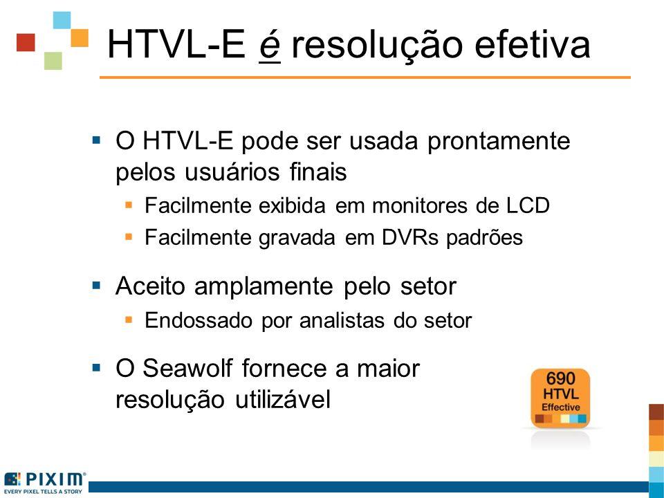 HTVL-E é resolução efetiva
