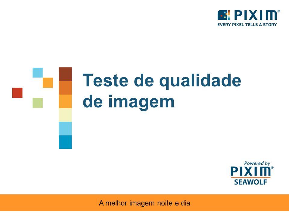 Teste de qualidade de imagem