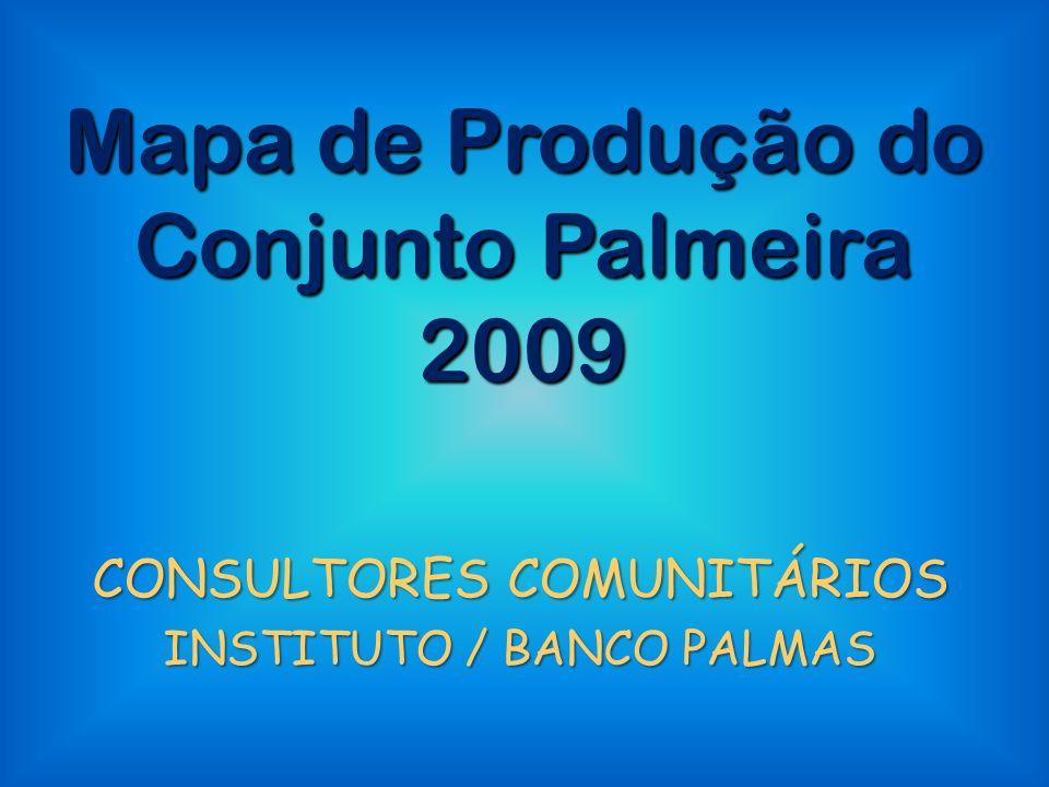 Mapa de Produção do Conjunto Palmeira 2009