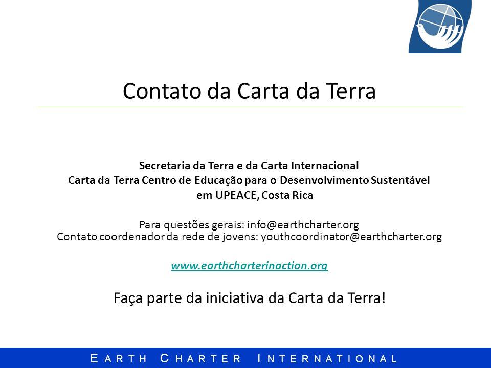 Contato da Carta da Terra