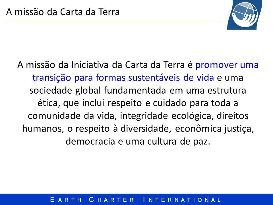 A missão da Carta da Terra