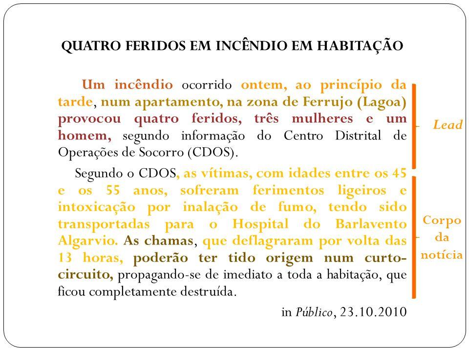 QUATRO FERIDOS EM INCÊNDIO EM HABITAÇÃO
