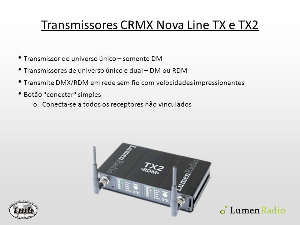 Transmissores CRMX Nova Line TX e TX2
