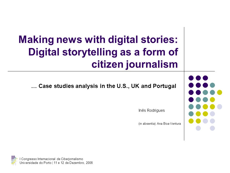 … Case studies analysis in the U.S., UK and Portugal