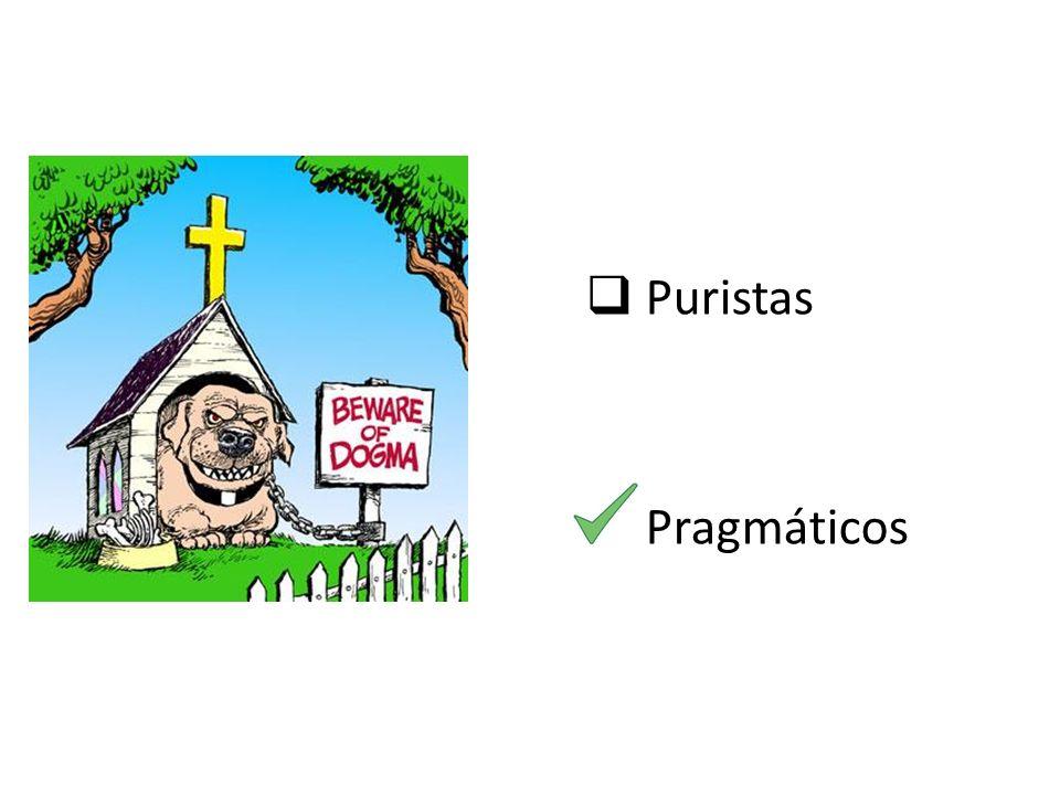 Puristas Pragmáticos melhorar