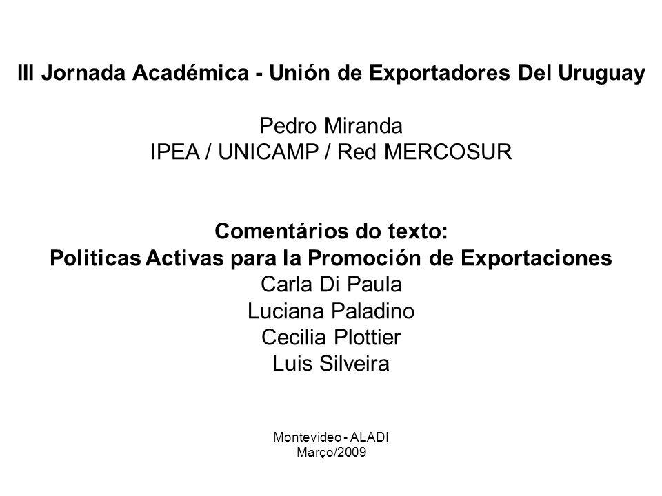 III Jornada Académica - Unión de Exportadores Del Uruguay