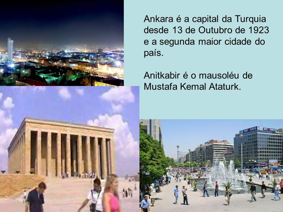 Ankara é a capital da Turquia
