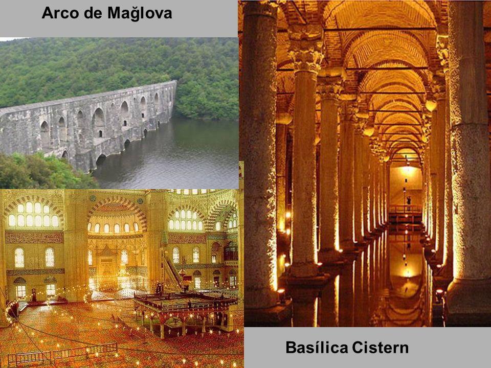 Arco de Mağlova Basílica Cistern
