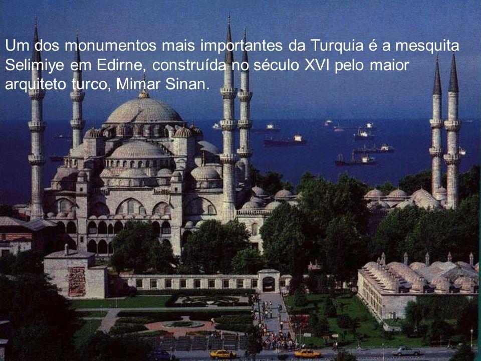 Um dos monumentos mais importantes da Turquia é a mesquita