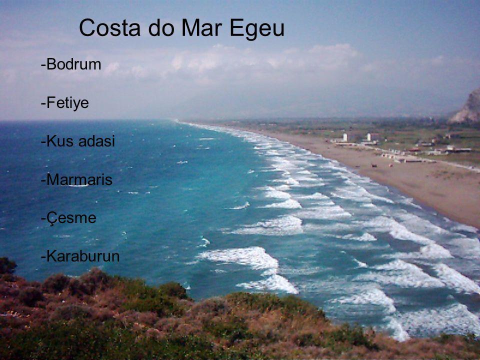 Costa do Mar Egeu -Bodrum -Fetiye -Kus adasi -Marmaris -Çesme