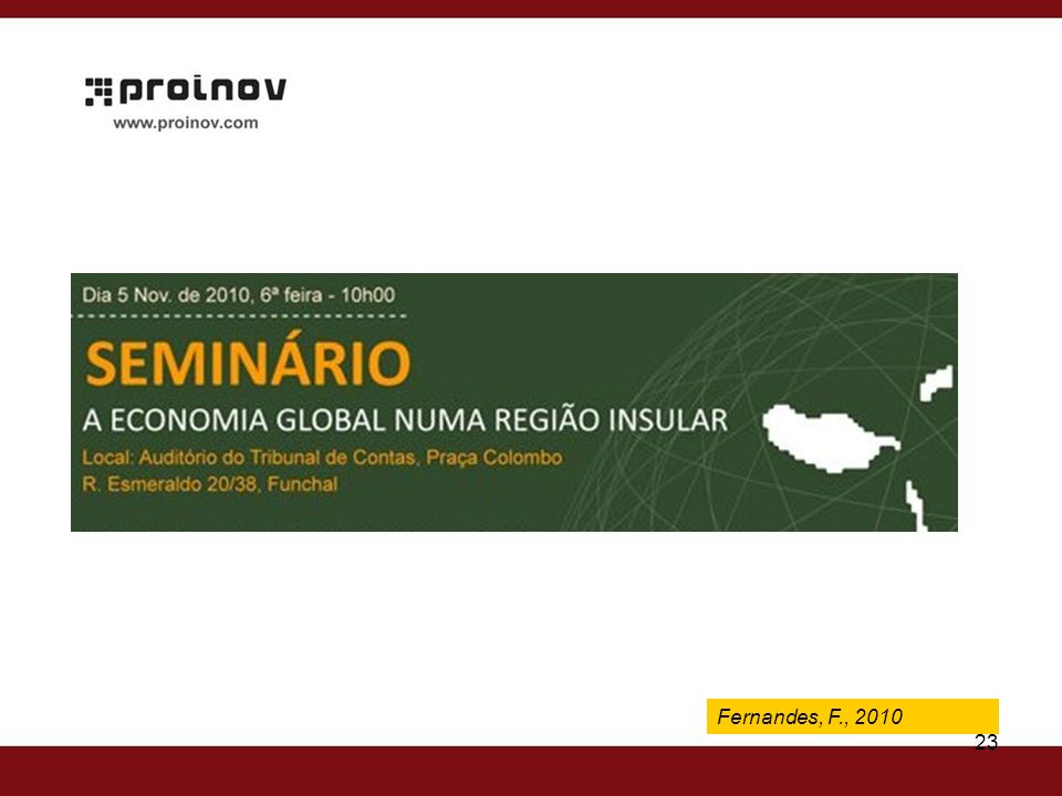 Fernandes, F., 2009 Fernandes, F., 2010