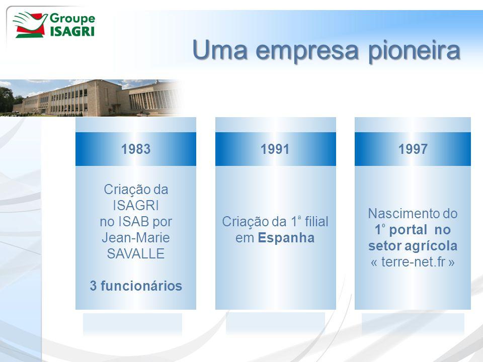 1º portal no setor agrícola