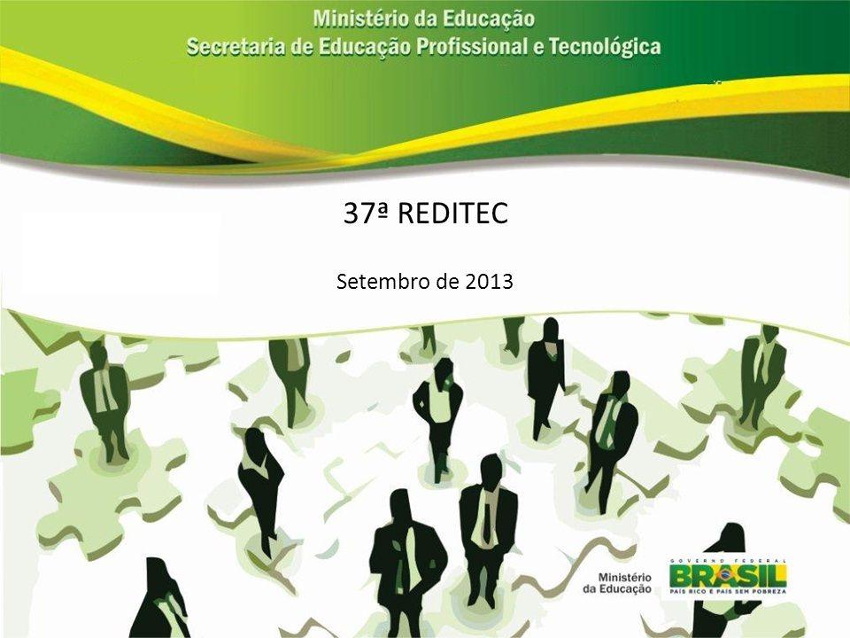 37ª REDITEC Setembro de 2013
