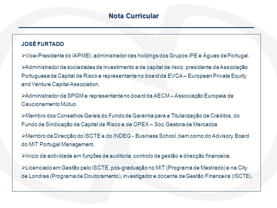 Nota Curricular JOSÉ FURTADO