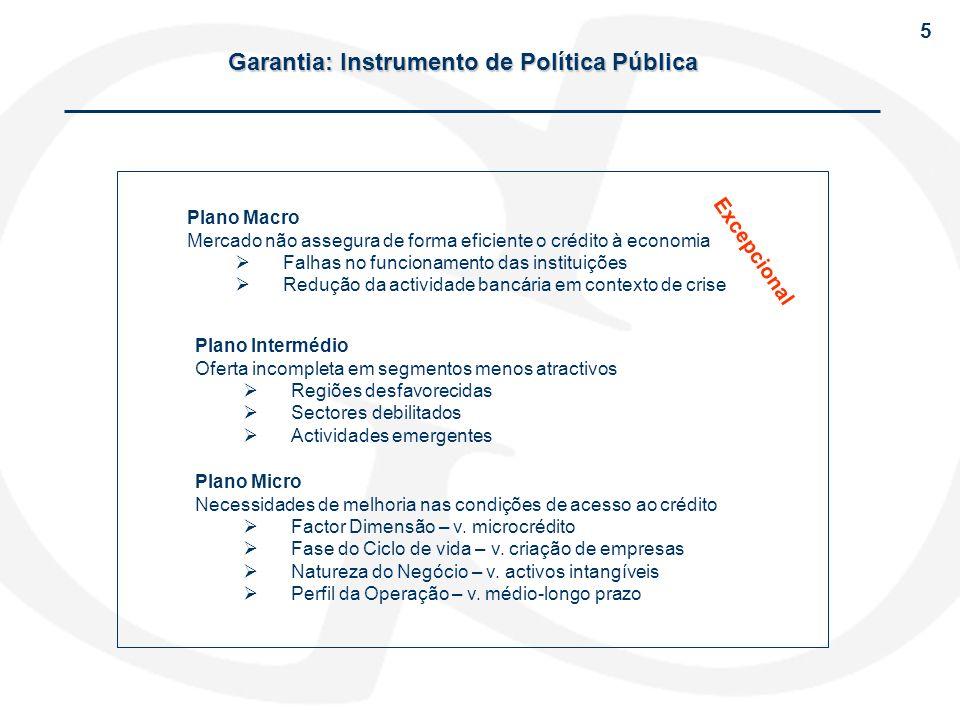 Garantia: Instrumento de Política Pública