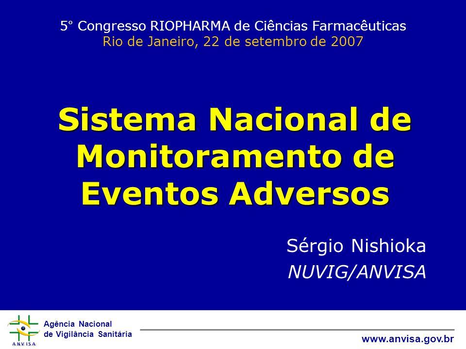 Sistema Nacional de Monitoramento de Eventos Adversos