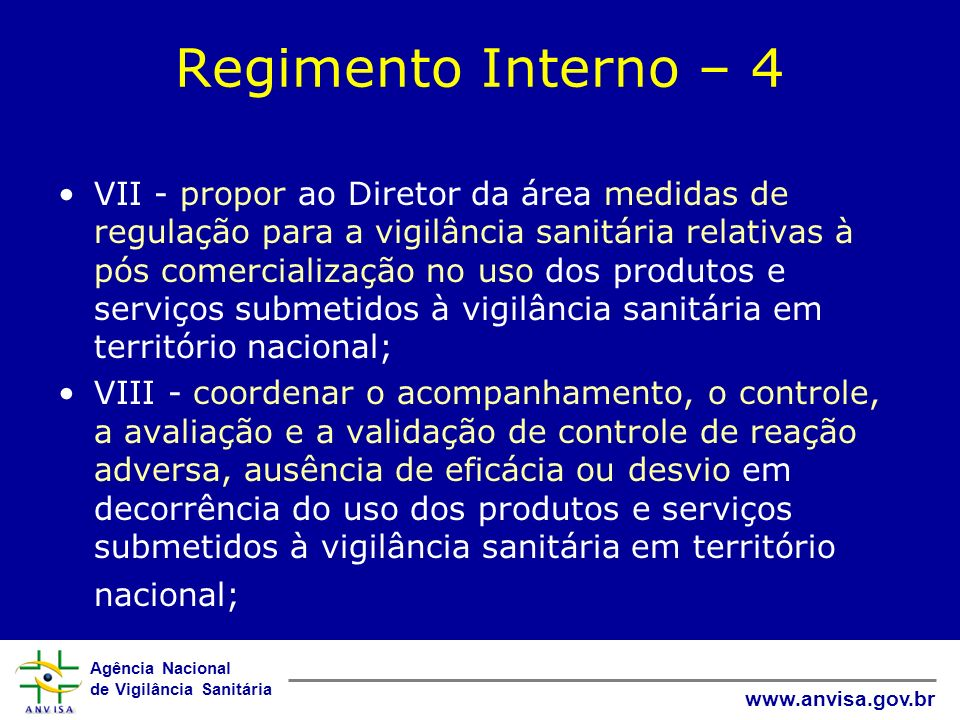 Regimento Interno – 4