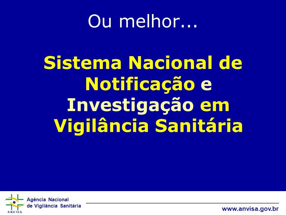 Sistema Nacional de Notificação e Investigação em Vigilância Sanitária