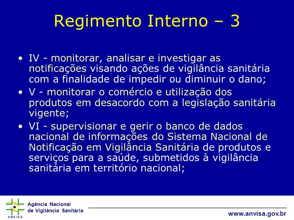 Regimento Interno – 3