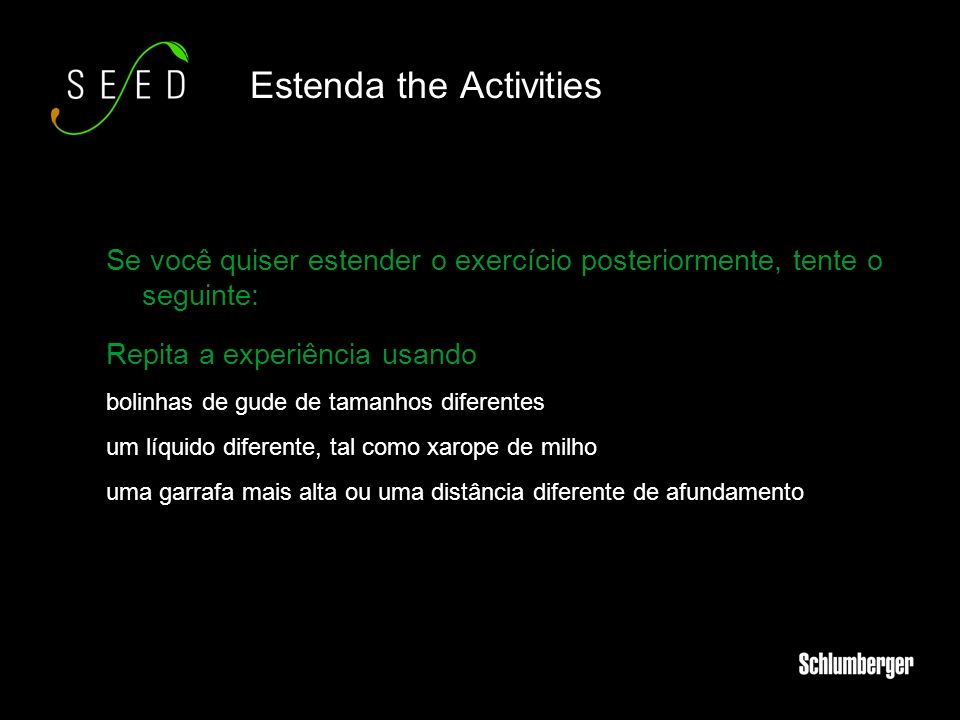 Estenda the Activities