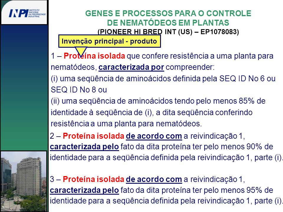 GENES E PROCESSOS PARA O CONTROLE DE NEMATÓDEOS EM PLANTAS