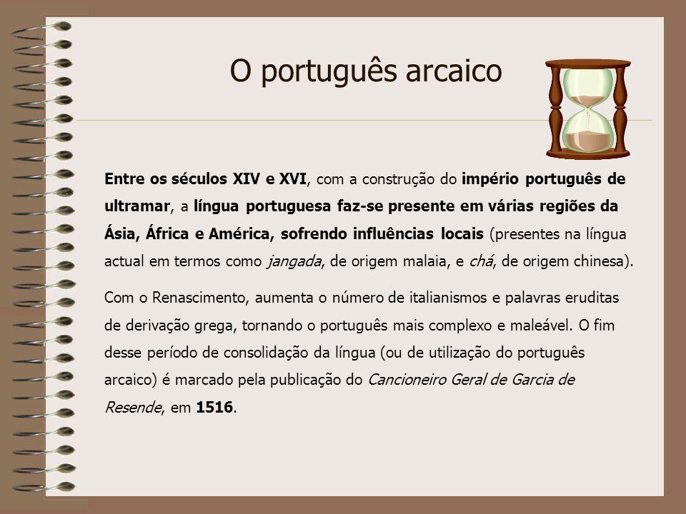 O português arcaico